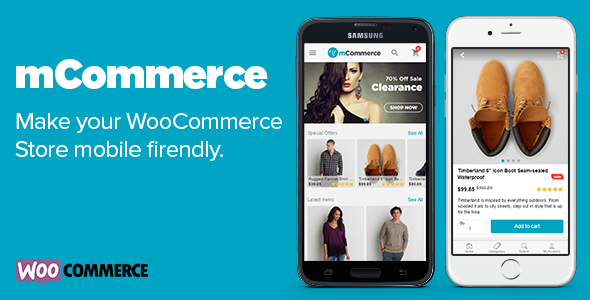 mCommerce v1.0.9 – WooCommerce Mobile Theme