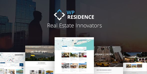 WP Residence v1.19.1 – Real Estate WordPress Theme