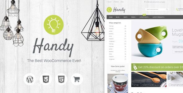 Handy v5.0.4 – Handmade Shop WordPress WooCommerce Theme