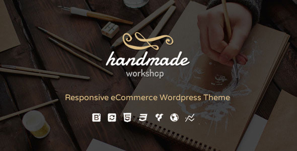 Handmade v5.0 – WordPress商店类WooCommerce主题