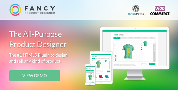 Fancy Product Designer v3.4.3 – WooCommerce Plugin
