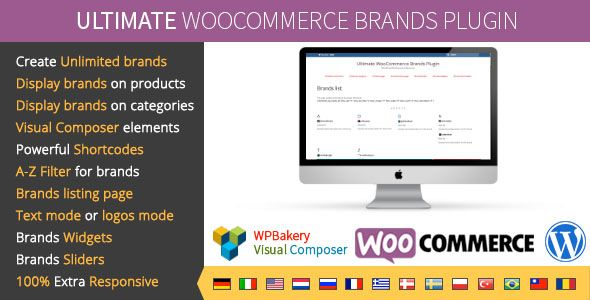 Ultimate WooCommerce 品牌插件 v1.7