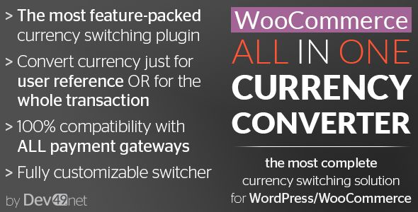 WooCommerce All in One Currency Converter v2.7