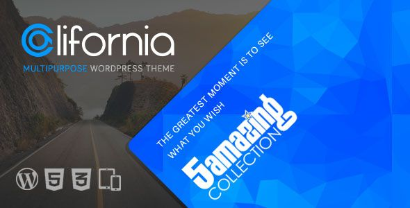 California v1.7.0 – Multipurpose WordPress Theme