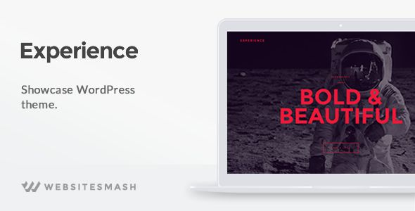 Experience v1.1.6 – Showcase WordPress Theme