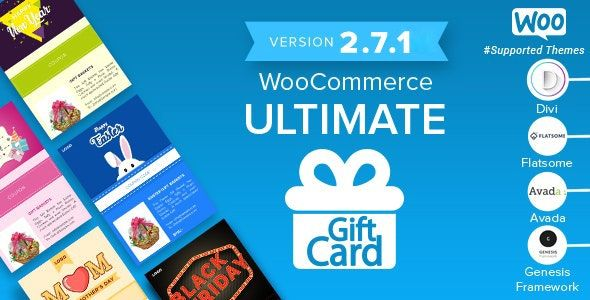 WooCommerce Ultimate Gift Card v2.7.5