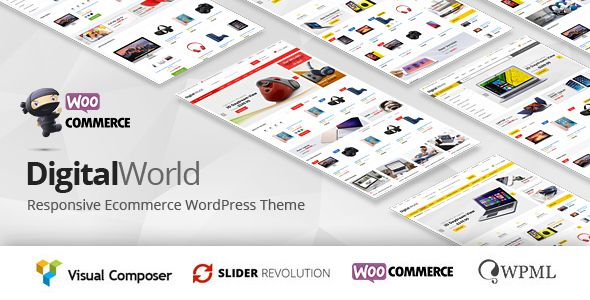 Digitalworld v1.0.7 - Multipurpose WordPress Theme