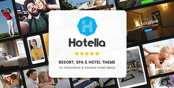 Hotella v1.0.3 – Resort & Hotel Booking WordPress Theme