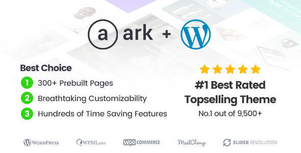 The Ark v1.17.0 – Next Generation WordPress Theme