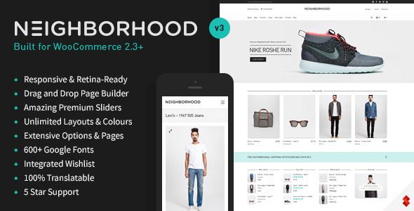 Neighborhood v3.4.32 – Responsive Multi-Purpose Shop Theme
