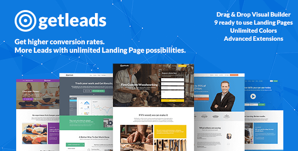 Getleads v1.4 – High-Performance Landing Page Theme