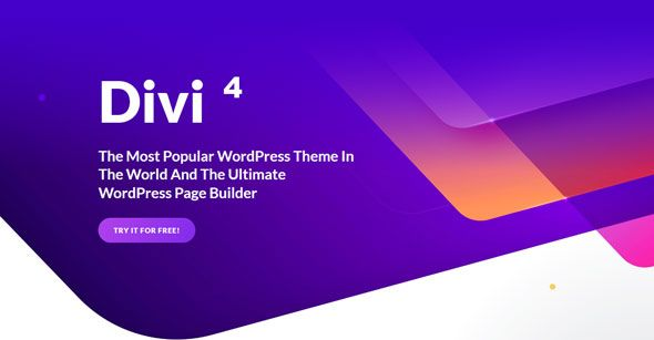 Divi v4.4.6 – Elegantthemes高级WordPress主题