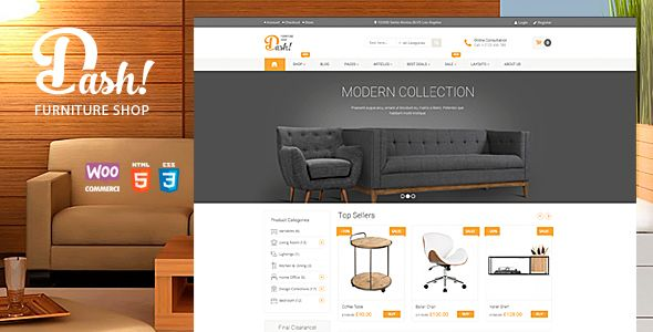 Dash v2.0 – Handmade Furniture Marketplace Theme