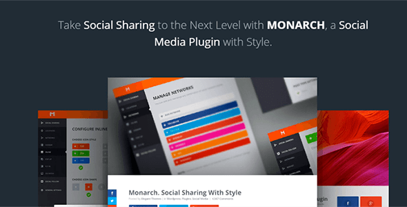 Monarch v1.3.7 - A Better Social Sharing Plugin