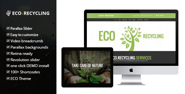 Eco Recycling v2.2 – 多功能WooCommerce主题