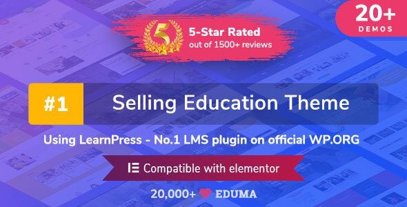 Eduma v4.2.5 – WordPress教育主题