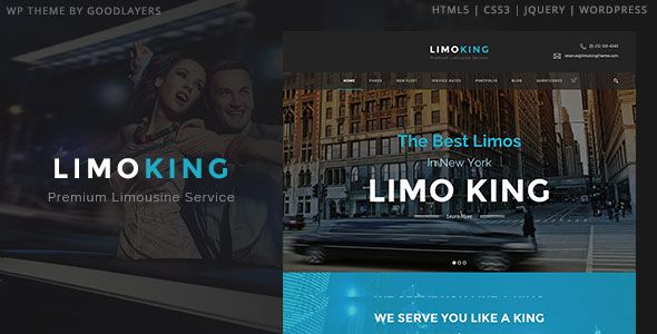 Limo King v1.0.5 – Limousine / Transport / Car Hire Theme