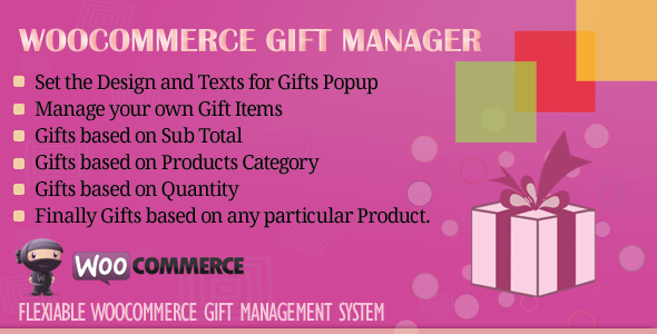 WooCommerce Gift Manager v2.3