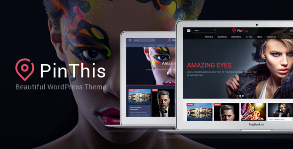 PinThis v1.6.6 – Pinterest Style WordPress Theme