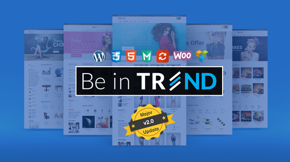 Trend v2.0.1 – Multipurpose Modern Shop WooCommerce Theme
