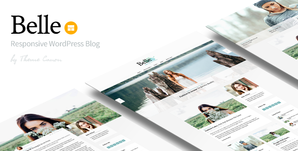 Belle v1.11 – Responsive WordPress Blog Theme