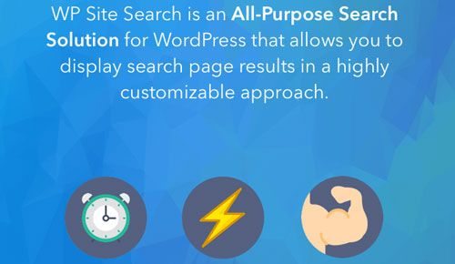 WP Site Search Pro v160919.20557