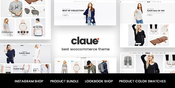Claue v1.1.0 – Clean, Minimal WooCommerce Theme