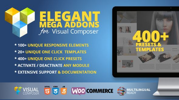 Elegant Mega Addons for Visual Composer v3.0.6