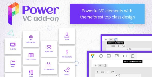 Power VC Add-on v1.0.3 – Powerful Elements for Visual Composer