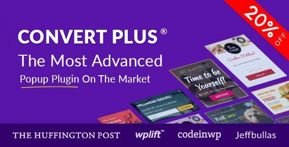 ConvertPlus v3.5.7 – WordPress弹出插件