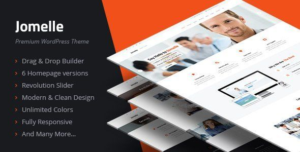 Jomelle v2.3.0 – Multipurpose Business WordPress Theme