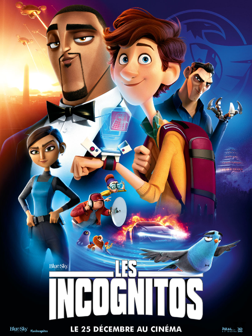 Spies In Disguise 2019 CUSTOM MULTi VFQ 1080p mHD x264 AC3-XSHD