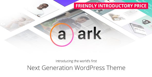 The Ark v1.5.0 – Next Generation WordPress Theme