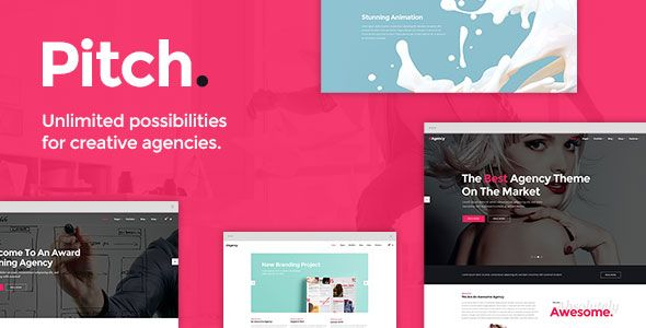 Pitch v1.9 – A Theme for Freelancers and Agencies