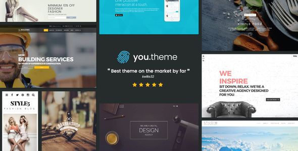 You v1.4 – Multi-Purpose Responsive WordPress Theme