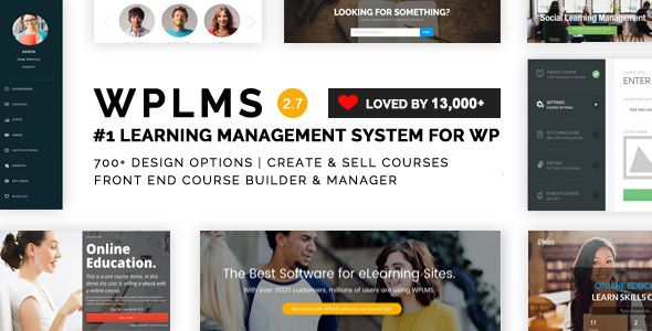 WPLMS v2.7.0 – Learning Management System