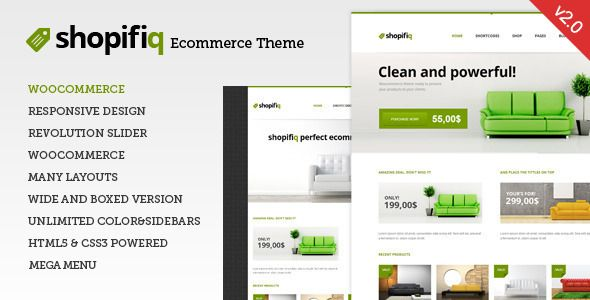 Shopifiq v2.4.2 – Responsive WordPress WooCommerce Theme