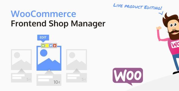 WooCommerce Frontend Shop Manager v3.4.0