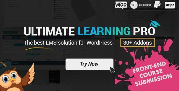 Ultimate Learning Pro v2.4 – WordPress终极学习插件