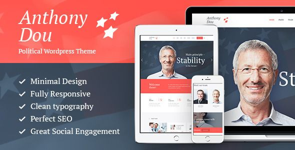 Unite v1.6 – Political & Social WordPress Theme