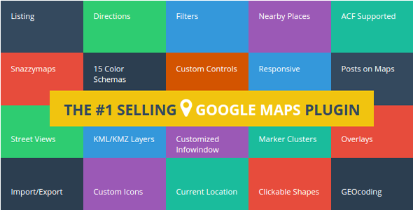 Advanced Google Maps Plugin for WordPress v4.0.1