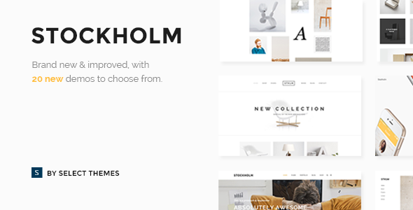 Stockholm v3.8.1 – A Genuinely Multi-Concept Theme
