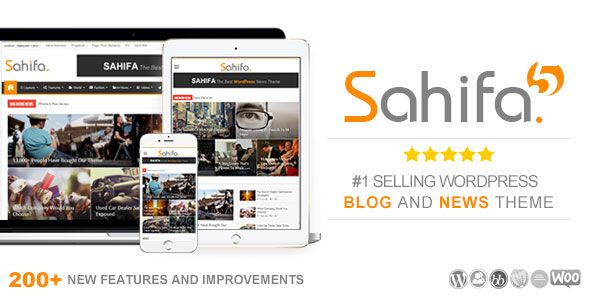 Sahifa v5.6.4 – Responsive WordPress News, Magazine