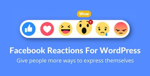 Facebook Reactions For WordPress v2.4 – 评论表情插件