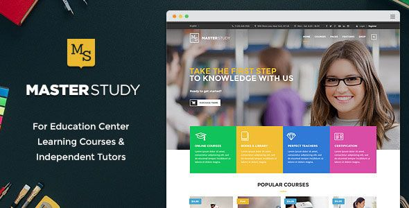 Masterstudy v1.5.4 – Education Center WordPress Theme