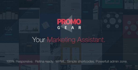 PromoGear v1.0.6 – Creative One Page Multipurpose Theme