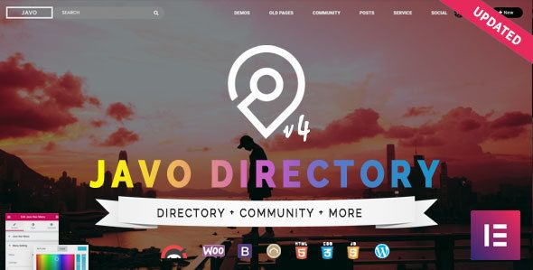 Javo Directory v4.1.7 – WordPress目录主题