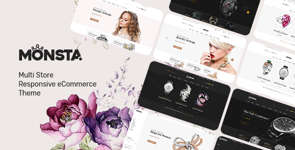 Monsta v1.0.7 – WooCommerce WordPress珠宝主题
