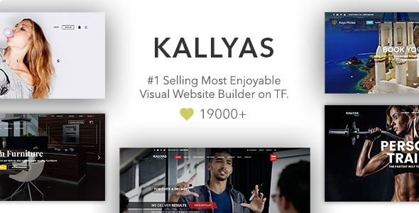 KALLYAS v4.9.0 – Responsive Multi-Purpose WordPress Theme