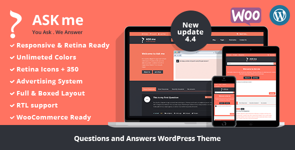 Ask Me v4.4 - Responsive Questions & Answers WordPress